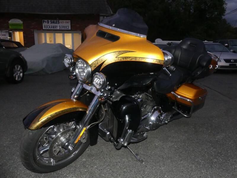2015 Harley-Davidson FLHTKSE CVO for sale at P&D Sales in Rockaway NJ