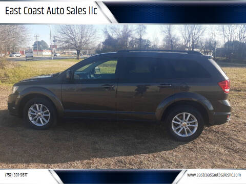2016 Dodge Journey for sale at East Coast Auto Sales llc in Virginia Beach VA