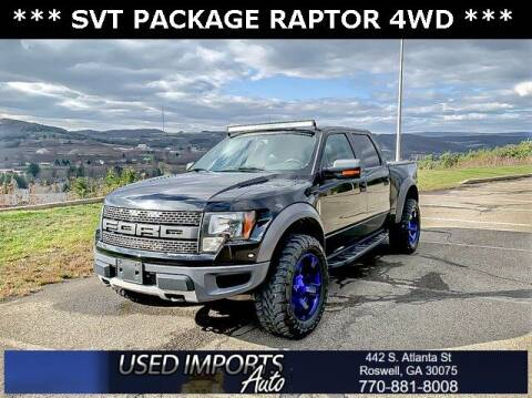 2011 Ford F-150 for sale at Used Imports Auto in Roswell GA