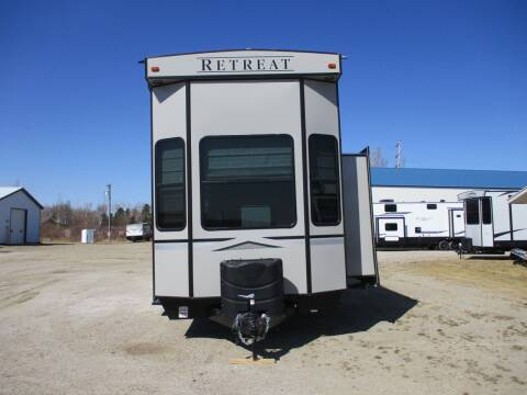 2021 Keystone Retreat 39 FLFT for sale at Lakota RV - New Park Trailers in Lakota ND