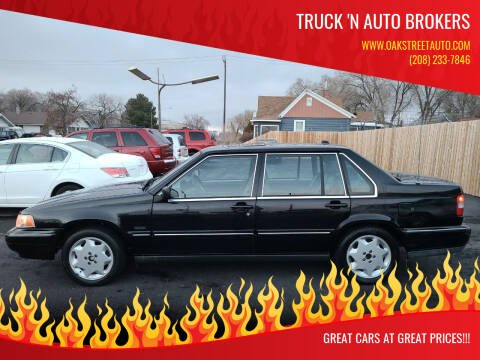 1998 Volvo S90 for sale at Truck 'N Auto Brokers in Pocatello ID