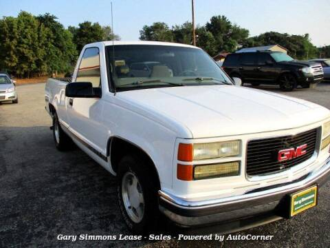 1997 GMC Sierra 1500 for sale at Gary Simmons Lease - Sales in Mckenzie TN