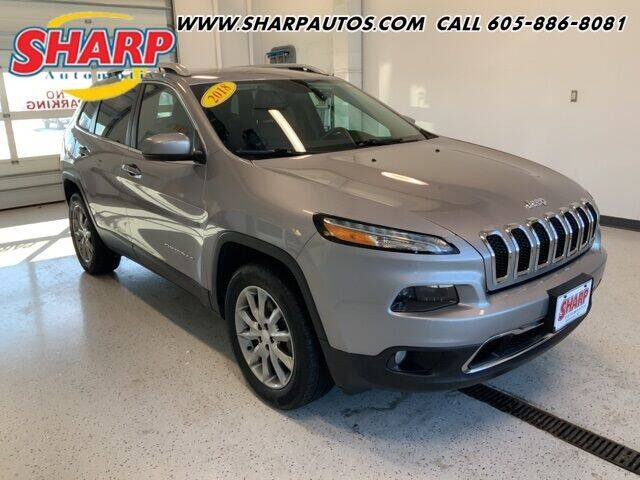 2018 Jeep Cherokee for sale at Sharp Automotive in Watertown SD