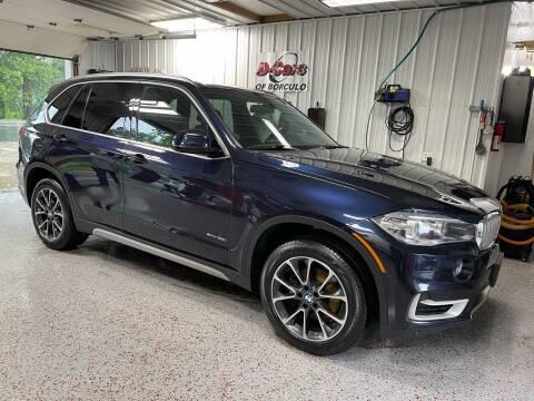 2017 BMW X5 for sale at D-Cars LLC in Zeeland MI