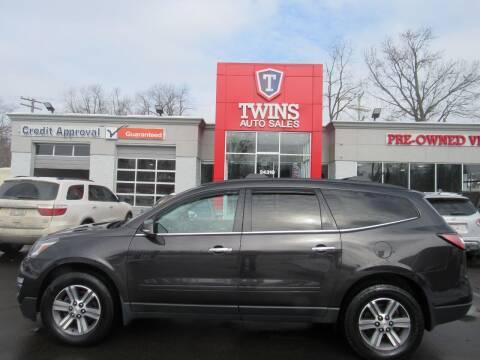 2017 Chevrolet Traverse for sale at Twins Auto Sales Inc in Detroit MI