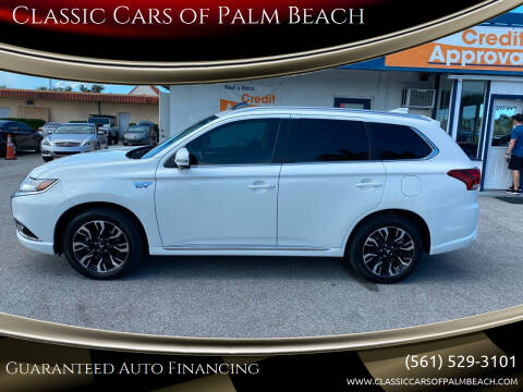 2018 Mitsubishi Outlander PHEV for sale at Classic Cars of Palm Beach in Jupiter FL