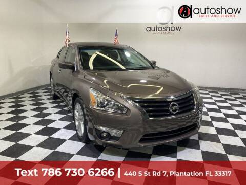 2015 Nissan Altima for sale at AUTOSHOW SALES & SERVICE in Plantation FL