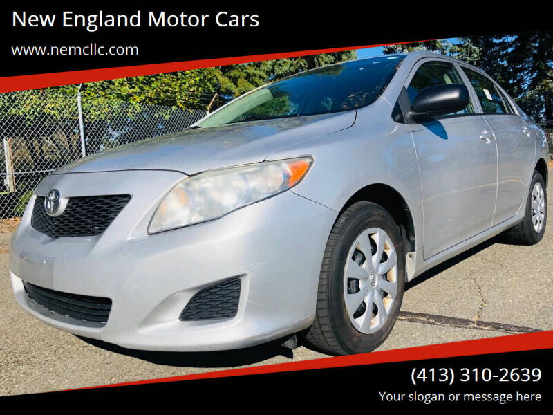 2010 Toyota Corolla for sale at New England Motor Cars in Springfield MA