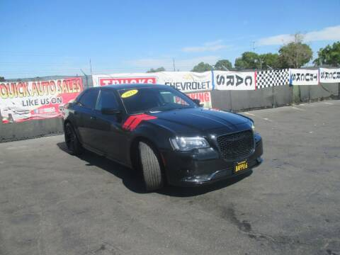 2015 Chrysler 300 for sale at Quick Auto Sales in Modesto CA