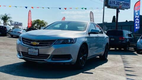 2016 Chevrolet Impala for sale at MotorMax in Lemon Grove CA