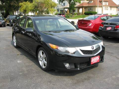 2009 Acura TSX for sale at CLASSIC MOTOR CARS in West Allis WI