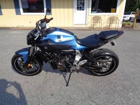 2017 Yamaha FZ07 for sale at BALKCUM AUTO INC in Wilmington NC