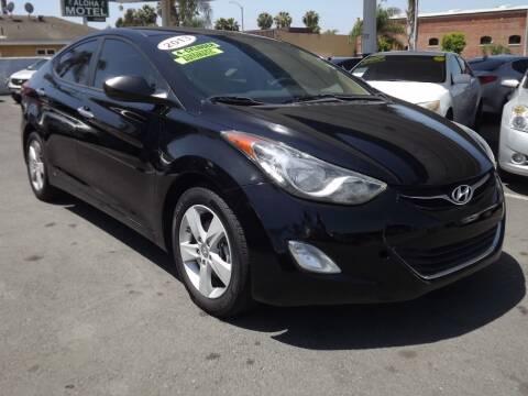 2013 Hyundai Elantra for sale at PACIFICO AUTO SALES in Santa Ana CA