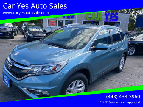 2016 Honda CR-V for sale at Car Yes Auto Sales in Baltimore MD