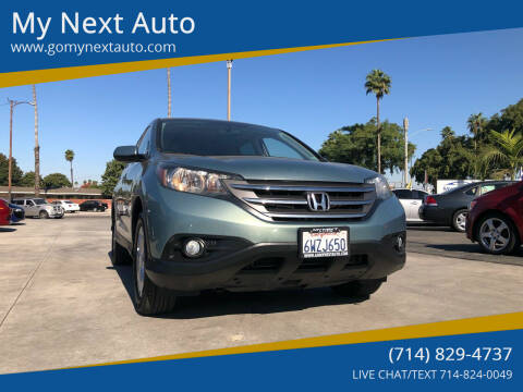 2012 Honda CR-V for sale at My Next Auto in Anaheim CA