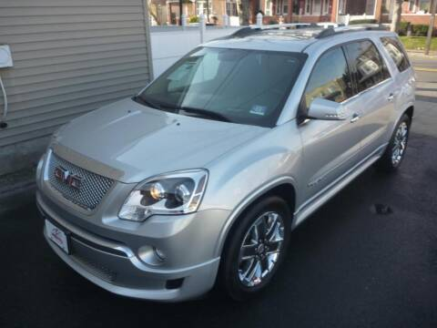 2012 GMC Acadia for sale at Pinto Automotive Group in Trenton NJ