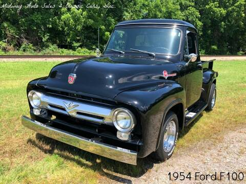 1954 Ford F-100 for sale at MIDWAY AUTO SALES & CLASSIC CARS INC in Fort Smith AR