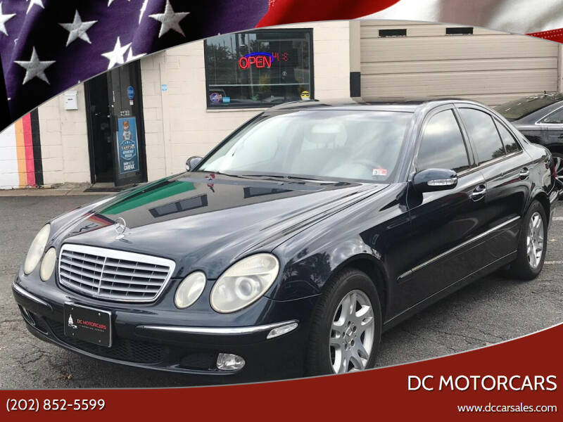 2003 Mercedes-Benz E-Class for sale at DC Motorcars in Springfield VA