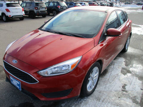 2018 Ford Focus for sale at Ripley & Fletcher Pre-Owned Sales & Service in Farmington ME