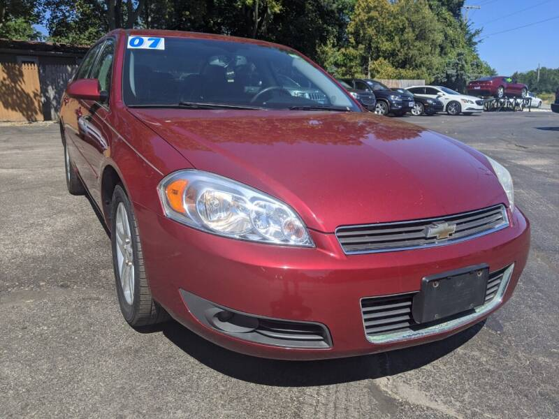 2007 Chevrolet Impala for sale at GREAT DEALS ON WHEELS in Michigan City IN