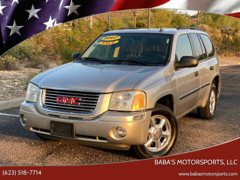 2007 GMC Envoy for sale at Baba's Motorsports, LLC in Phoenix AZ