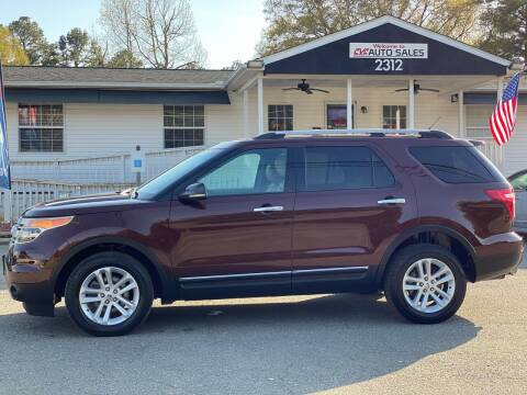 2012 Ford Explorer for sale at CVC AUTO SALES in Durham NC