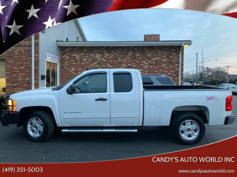 2012 Chevrolet Silverado 1500 for sale at Candy's Auto World Inc in Toledo OH