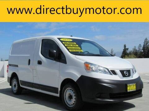 2016 Nissan NV200 for sale at Direct Buy Motor in San Jose CA