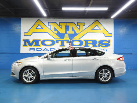 2018 Ford Fusion for sale at ANNA MOTORS, INC. in Detroit MI