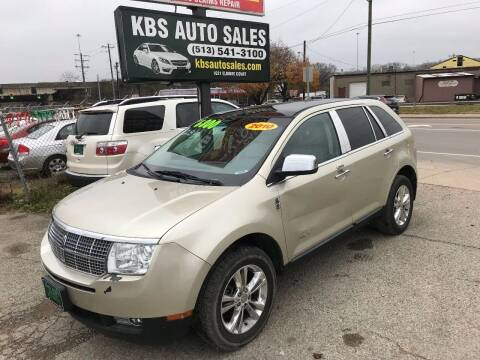 2010 Lincoln MKX for sale at KBS Auto Sales in Cincinnati OH