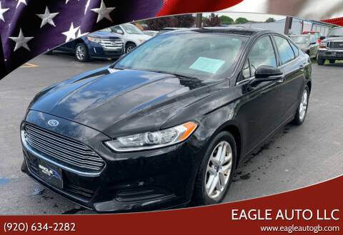 2015 Ford Fusion for sale at Eagle Auto LLC in Green Bay WI