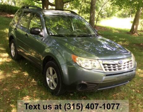 2012 Subaru Forester for sale at Pete Kitt's Automotive Sales & Service in Camillus NY