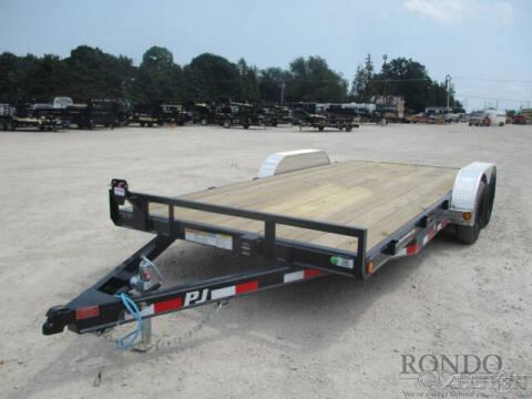 2022 PJ Trailer C5 Car Hauler C521832CSNKT for sale at Rondo Truck & Trailer in Sycamore IL