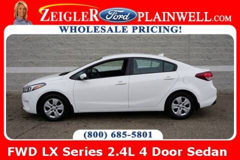 2018 Kia Forte for sale at Zeigler Ford of Plainwell- michael davis in Plainwell MI