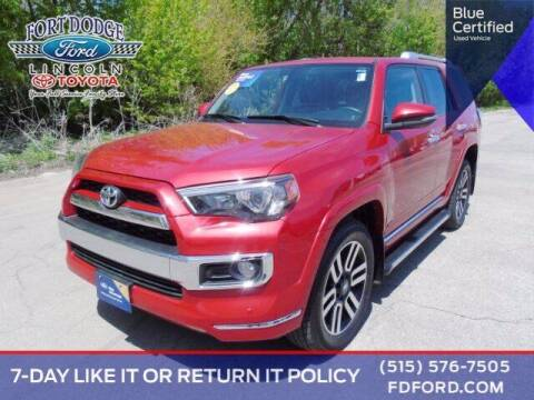 2017 Toyota 4Runner for sale at Fort Dodge Ford Lincoln Toyota in Fort Dodge IA