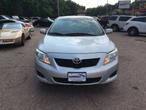 2010 Toyota Corolla for sale at Gordon Auto Sales LLC in Sioux City IA