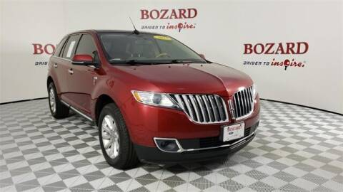 2015 Lincoln MKX for sale at BOZARD FORD in Saint Augustine FL