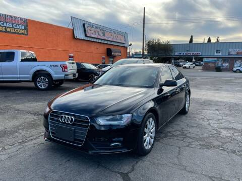 2013 Audi A4 for sale at City Motors in Hayward CA