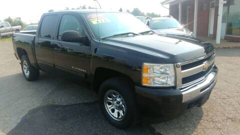 2010 Chevrolet Silverado 1500 for sale at AutoBoss PRE-OWNED SALES in Saint Clairsville OH
