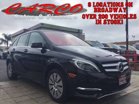 2014 Mercedes-Benz B-Class for sale at CARCO SALES & FINANCE #3 in Chula Vista CA
