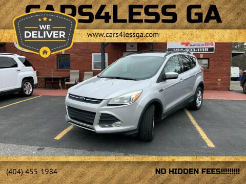 2013 Ford Escape for sale at Cars4Less GA in Alpharetta GA