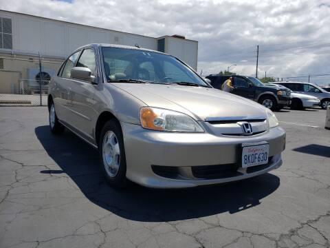 2003 Honda Civic for sale at Express Auto Sales in Sacramento CA