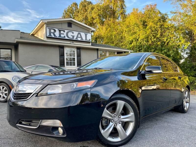 2012 Acura TL for sale at Regal Auto Sales in Marietta GA
