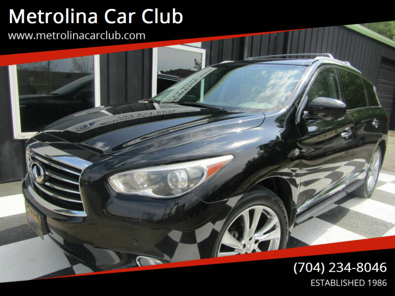 2015 Infiniti QX60 for sale at Metrolina Car Club in Matthews NC