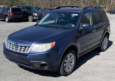 2012 Subaru Forester for sale at Father & Sons Auto Sales in Leeds NY