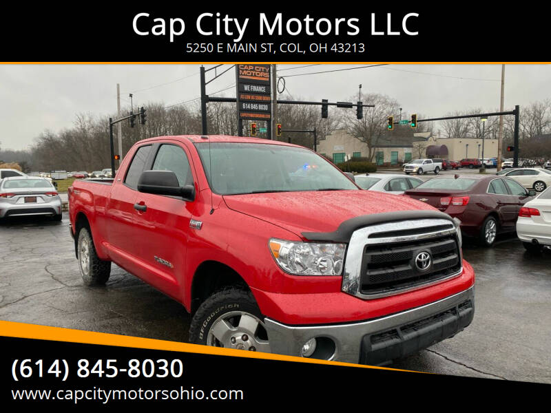 2010 Toyota Tundra for sale at Cap City Motors LLC in Columbus OH