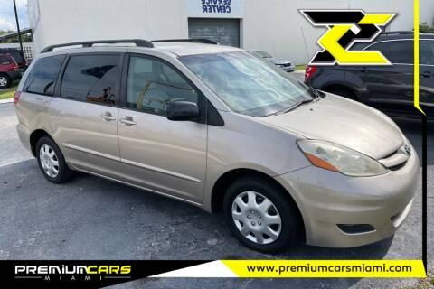 2007 Toyota Sienna for sale at Premium Cars of Miami in Miami FL