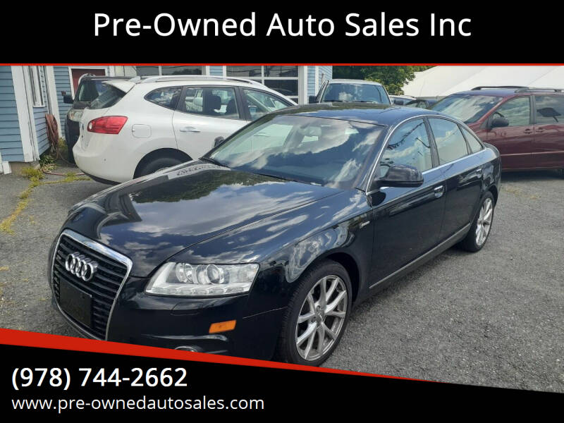 2011 Audi A6 for sale at Pre-Owned Auto Sales Inc in Salem MA