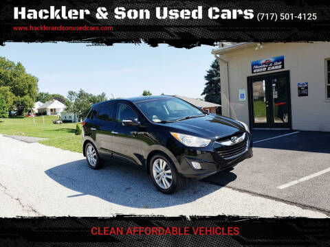 2012 Hyundai Tucson for sale at Hackler & Son Used Cars in Red Lion PA