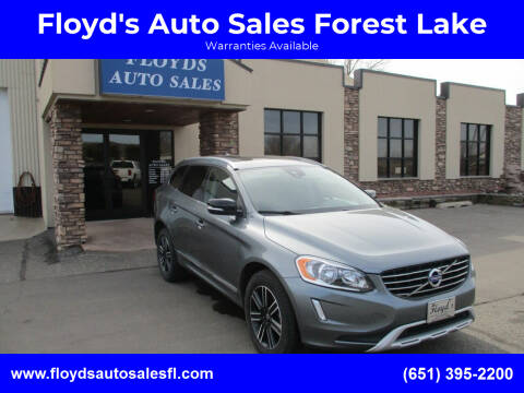 2017 Volvo XC60 for sale at Floyd's Auto Sales Forest Lake in Forest Lake MN